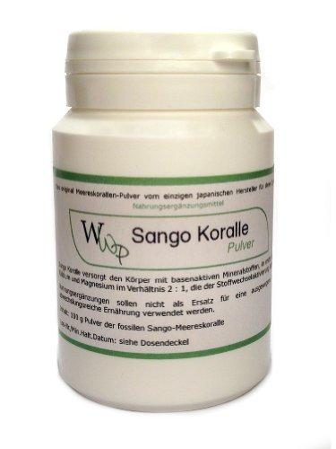 Sango Coral Powder - Original Sango Sea coral Powder from Okinawa - 100g by WWP