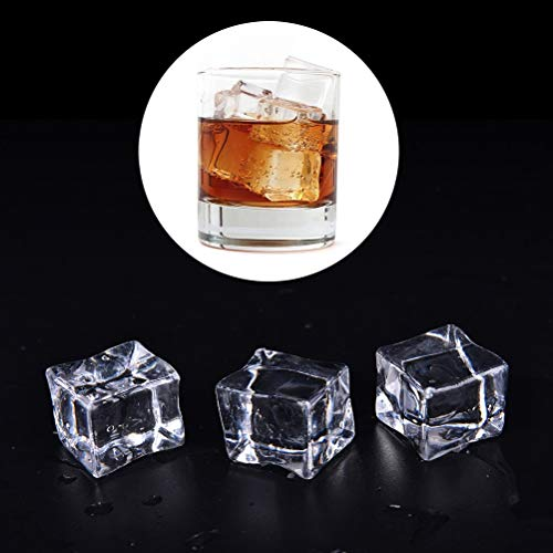 - Stone - Wholesale 10pcs 3 Sizes Clear Square Fake Artificial Acrylic Ice Cubes Crystal Home Display Decor - Glass Light Jewelry Earrings Beads Cube Bracelet Crystal Making Crystals Rings Lamp Nec