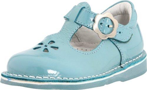 Kid Express Molly 20507000 T-Strap Flat (Toddler/Little Kid),Turquoise Patent,26 M EU (9.5 M US Toddler)