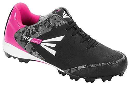 Easton Mako Wos 2.0 Frauen Gummi Low Softball Cleats - Schwarz / Pink Schwarz / Pink