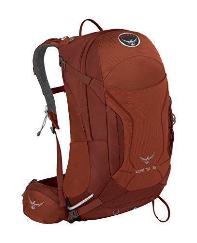 Osprey Packs Kestrel 32 Backpack, Dragon Red, Small/Medium
