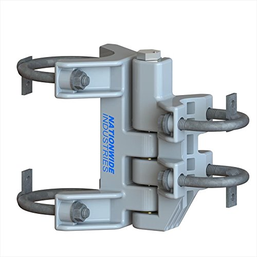 Pair of Nationwide Industries Multi-Size Chain Link Self-Closing Hinges