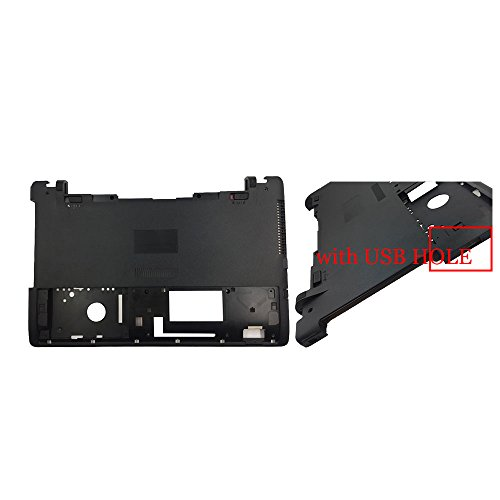 New Laptop Replacement Bottom Base Cover Case for Asus X550J X550JD X550JF X550JK X550JX X550L X550LA X550LB X550LC X550LD X550LDV X550LN X550MJ X550 X550V D Shell (with USB Hole) -  YUHUAI