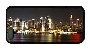 New York City Sky Line Theme Iphone 5 5S Case TPU Material hjbrhga1544