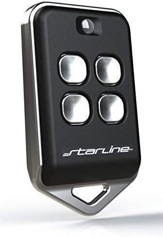STARLINE Twin 433mhz AU4T, mando remoto distancia universal para duplicar los mandos originales frecuencia 433 MHz(433.92 ) CÓDIGO FIJO(no códigos rotativos) MADE IN EU