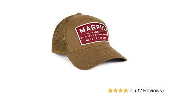 0660e90dd294a Amazon.com  Magpul Go Bang Mid Crown Snapback Baseball Cap