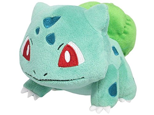 Sanei Pokemon All Star Series PP17 Bulbasaur Stuffed Plush, 4