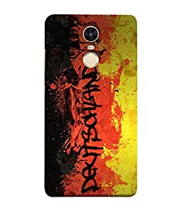 ColorKing Football Germany 05 Multi Color shell case cover for Xiaomi Redmi 5