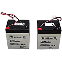 041B0591 Liftmaster 475 Replacement Batteries OEM AOD Retail Kit