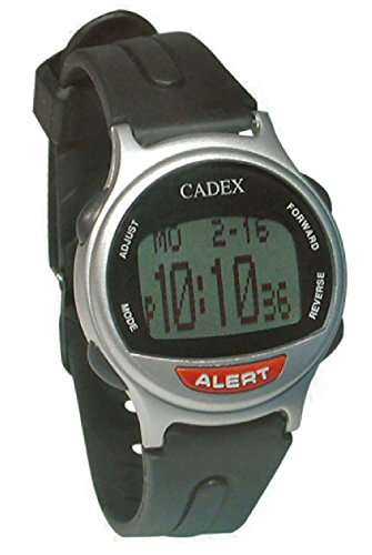 e-pill CADEX 12 Alarm Watch. Long Alarm Duration.Medication Reminder and Medical ALERT ID Watch. by e-pill Medication Reminders