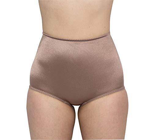 Rago Women's Light Panty, Mocha, 5X-Large (40)