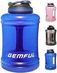 Botella de Agua Grande Deportiva sin BPA para Gimnasio al Aire Libre Camping 85 onzas