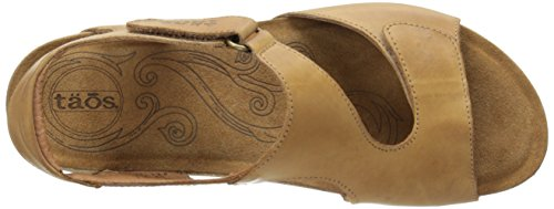 Taos Women's Rita Wedge Sandal, Tan, 41 EU/10-10.5 M US by Taos (Image #8)