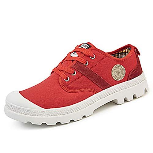 Footing Red Punta US9 Ginnastica Verde Scarpe Donna Piatto Leggere UK7 Autunno CN41 Suole TTSHOES Scarpe Per Poliuretano Da PU Primavera EU40 Lacci Tonda Comoda HqHOSCR