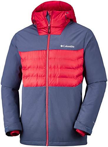 Columbia Jacket Ski White Dark Veste De Horizon Hybrid Mountain Homme tqqwOra