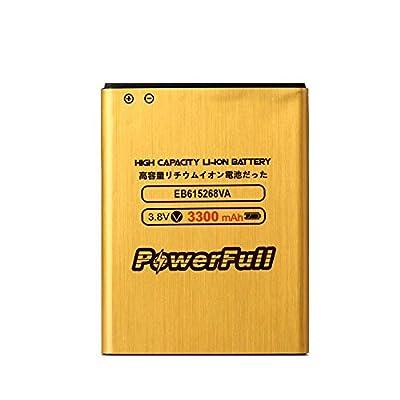 PowerFull Long Lasting Premium Quality EB615268VA EB615268VU Li-ion Battery 3300 mAh For Samsung Galaxy Note GT-N7000