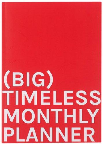 14 Month Planning Calendar (Big Timeless Monthly Planner. 210x297 cm (A4))