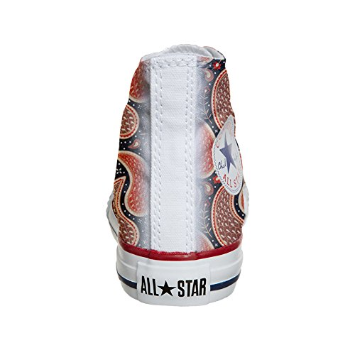 Converse All Star Hi chaussures coutume (produit artisanal) Chick Paysley