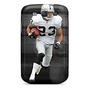Durable Cell-phone Hard Covers For Samsung Galaxy S3 With Allow Personal Design Vivid Oakland Raiders Pictures SherieHallborg