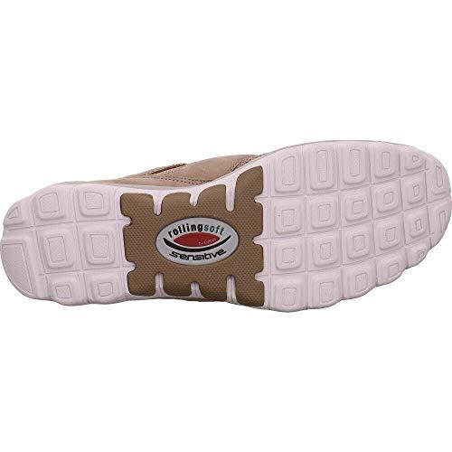 Rollingsoft Marron Gabor visone Shoes Sneakers Femme Basses 33 wqHFq5