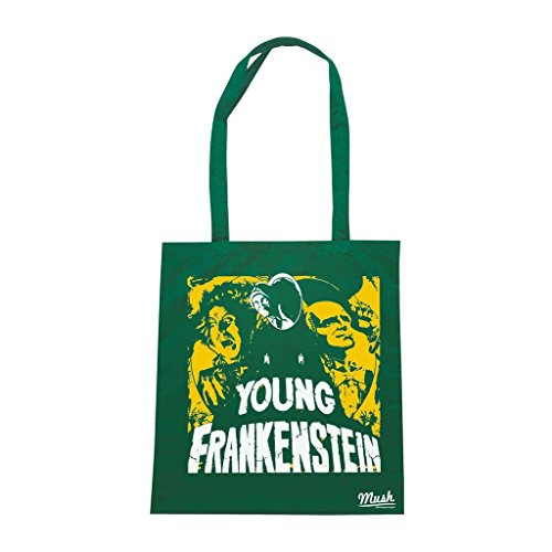 Borsa Young Frankenstein - Verde Bottiglia - Film by Mush Dress Your Style