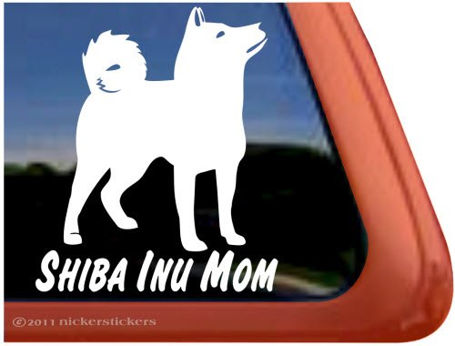 Shiba Quality Vinyl Window Decal