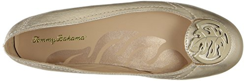 Gold Bahama Ballet Floral Tommy Flat Athens Women's q1wxFYT