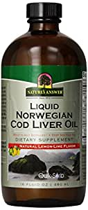 Nature's Answer Cod Liver Oil, 16-Fluid Ounces