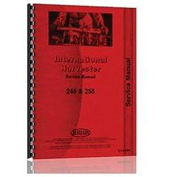 Service Manual - 245, 255, New, Case IH