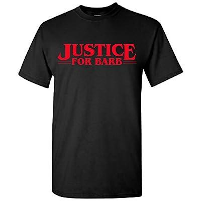 UGP Campus Apparel Justice For Barb - Funny Stranger Of Things Nancy Steve T Shirt