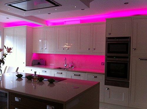 online-leds 5 m – 16.3 FT unter Küche Schrank Beleuchtung ...
