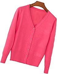 Feature: comfortable, casual, elegant and classy cardigan sweater comes in multiple colors, making it a perfect fit for any occasion. This soft fitted knit cardigan sweaters are made out of high quality material.  Size Chart  Size: (US)XXS, X...