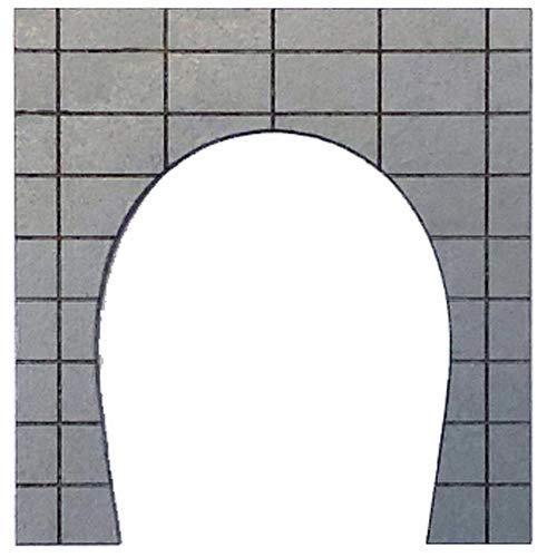 포 폰 데《다》 포 포 프로 디오라마 콜렉션 「memory's」 N게이지 터널 포털 콘크리트 단선 그레이 MS-003 디오라마 용품