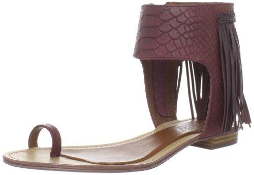 Boutique 9 Femmes Baste Thong Sandale Violet / Violet Reptile