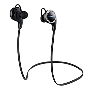 Vtin Inalámbrico Auriculares/Audífonos Deportivo Bluetooth 4.1,Versión QY8,Reducción de Ruido y Sonido Estéreo