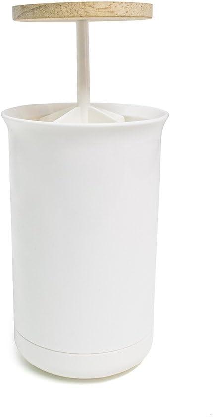 Balvi Dispensador bastoncillos algodón Push & Up Color Blanco ...