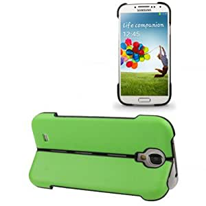 Transform Shell Plastic & Silicon Double-layer Protection Case for Samsung Galaxy S IV / i9500 (Green)