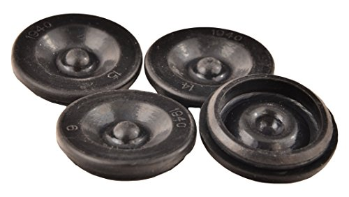 ToughGrade TRP Dexter EZ Lube Rubber Grease Plugs Hub Dust Cap, 4 Piece