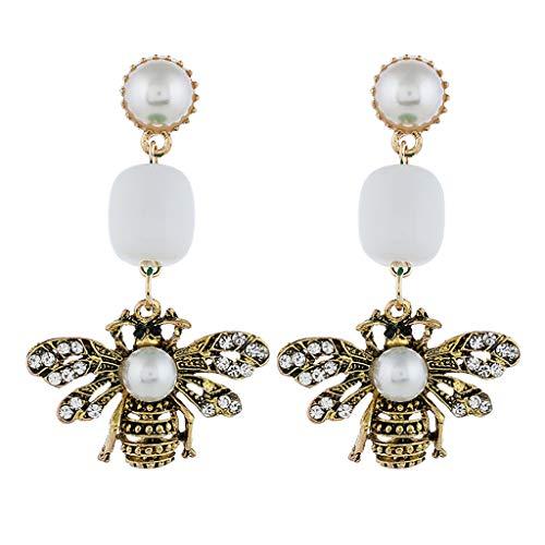 Topgee Simple European and American Earrings Wild Ladies Fashion National Trend Women Daily Apparel Golden Silk Tassel Metal Earrings Tassel Earrings Ear Stud Jewelry Gift, Women Daily, 1pair