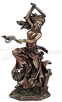 Oya African Goddess of Wind, Storm & Transformation Statue by wu
