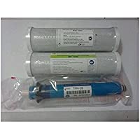 GE TFM-18 18 GPD RO Reverse Osmosis GE Membrane w/Ca Ware Pre & Post Filters FX12M Smart Water Compatible by CFS