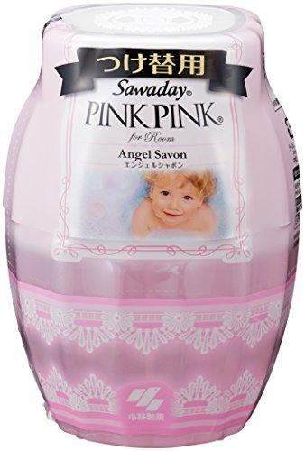 影響力のある魔法起きてサワデーピンクピンク 消臭芳香剤 部屋用 詰め替え用 エンジェルシャボン 250ml