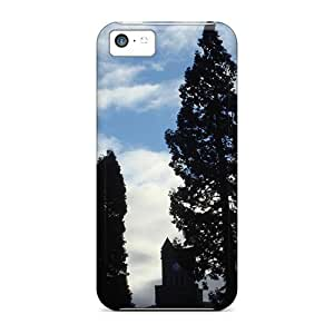DcUusKE1660RbqjY AnnetteL Trees Sky Durable Iphone 5c Tpu Flexible Soft Case