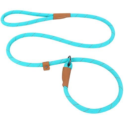 Pet's Company Slip Lead Dog Leash, Reflective Mountain Climbing Rope Leash, Dog Training Leash – 5FT, 2 Sizes
