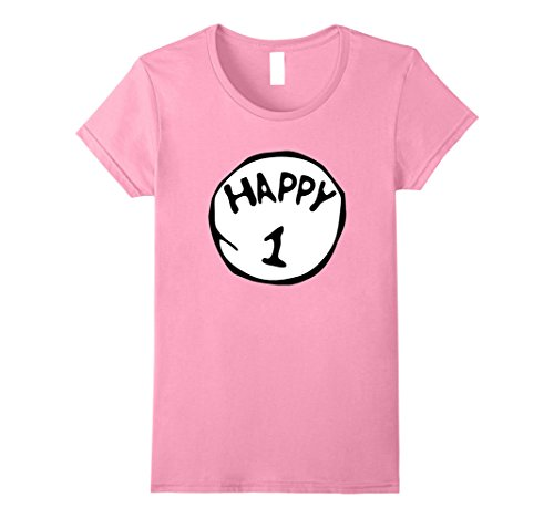 Female Double Acts Costumes (Womens Happy 1 Trick or Treat Scary Lazy Halloween Costume T-Shirt Large Pink)