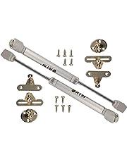 KOTARBAU® Set van 2 meubels gasveer (… N), hydraulische veer gasveer meubels klepbeslag hydraulische gasveer zilver