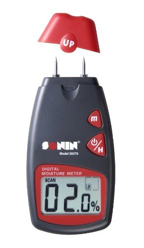 Sonin 50270 Digital Moisture Test Meter 270 for Wood by Sonin