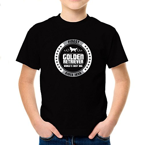 Idakoos - Finest Golden retriever since 1850 - Dogs - Youth T-Shirt