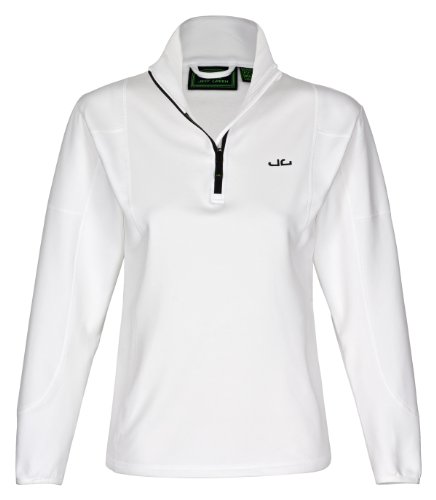 Jeff Green Softshell Pullover Jess - Prenda blanco claro