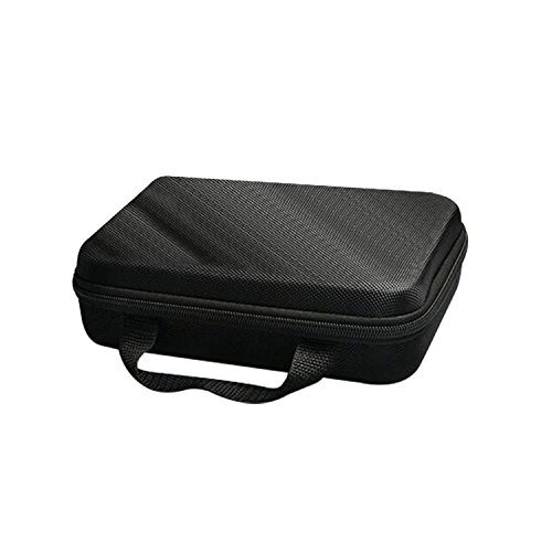 SEHOO Camera Bag Case, Portable Storage Bins Waterproof Shockproof Partition for Phone Lens, USB Charger, USB Cable, Mouse, USB Flash Disk, Flash, Battery and Other Accessories (Flash Trigger Sony)